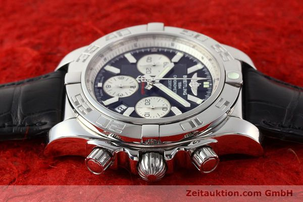 Used luxury watch Breitling B01 steel automatic Kal. B01 Ref. AB0110  | 141293 05