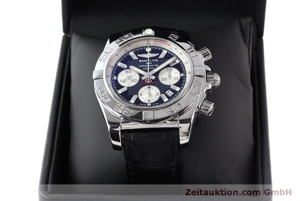 Used luxury watch Breitling B01 steel automatic Kal. B01 Ref. AB0110  | 141293 07