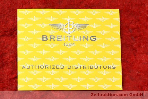 Used luxury watch Breitling B01 steel automatic Kal. B01 Ref. AB0110  | 141293 11