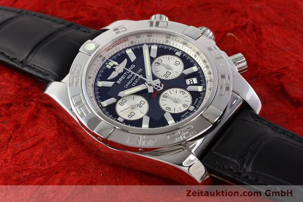 Used luxury watch Breitling B01 steel automatic Kal. B01 Ref. AB0110  | 141293 14
