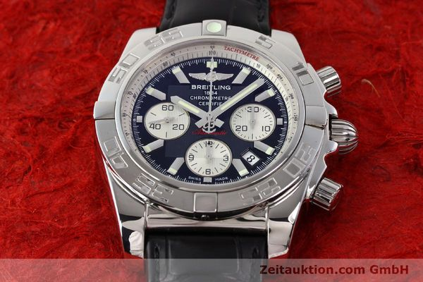 Used luxury watch Breitling B01 steel automatic Kal. B01 Ref. AB0110  | 141293 15