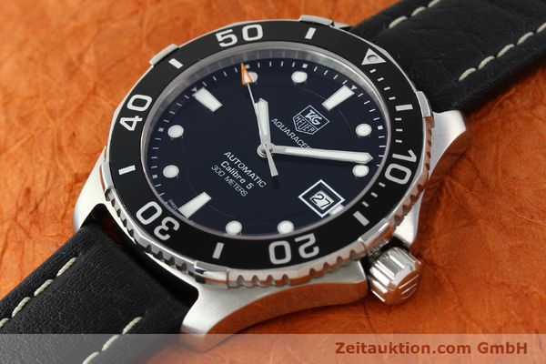 Used luxury watch Tag Heuer Aquaracer steel automatic Kal. 5 SW200-1 Ref. WAN2110  | 141295 01