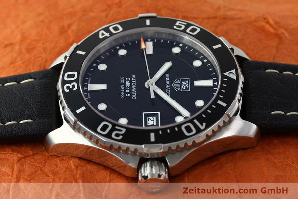 Used luxury watch Tag Heuer Aquaracer steel automatic Kal. 5 SW200-1 Ref. WAN2110  | 141295 05