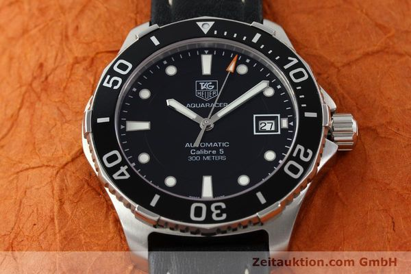 Used luxury watch Tag Heuer Aquaracer steel automatic Kal. 5 SW200-1 Ref. WAN2110  | 141295 13