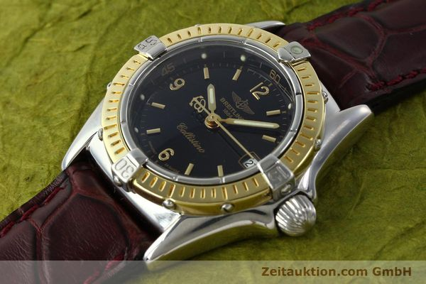 Used luxury watch Breitling Callistino steel / gold quartz Kal. B52 ETA 256.112 Ref. D52045  | 141296 01