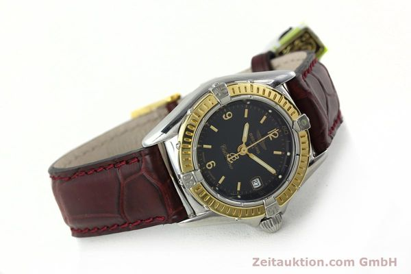 Used luxury watch Breitling Callistino steel / gold quartz Kal. B52 ETA 256.112 Ref. D52045  | 141296 03