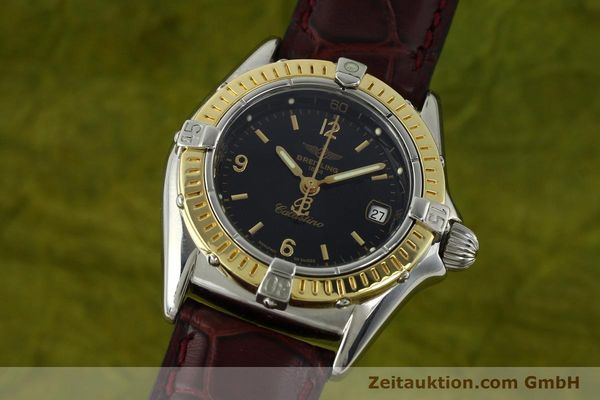 Used luxury watch Breitling Callistino steel / gold quartz Kal. B52 ETA 256.112 Ref. D52045  | 141296 04