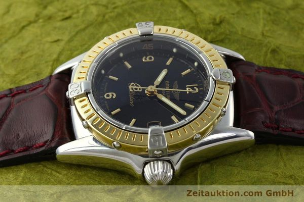 Used luxury watch Breitling Callistino steel / gold quartz Kal. B52 ETA 256.112 Ref. D52045  | 141296 05