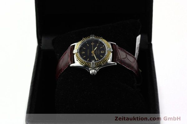 Used luxury watch Breitling Callistino steel / gold quartz Kal. B52 ETA 256.112 Ref. D52045  | 141296 07