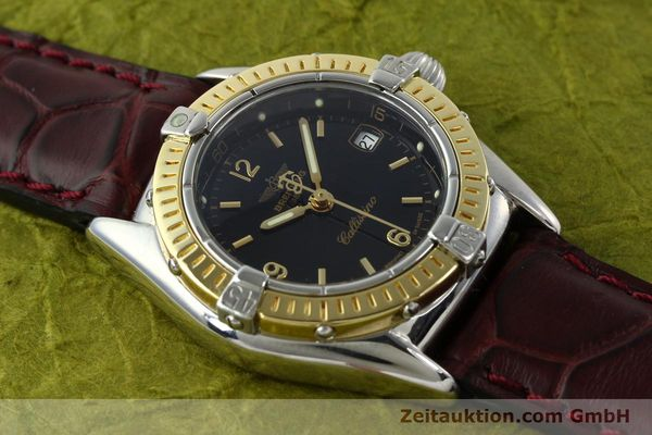 Used luxury watch Breitling Callistino steel / gold quartz Kal. B52 ETA 256.112 Ref. D52045  | 141296 12