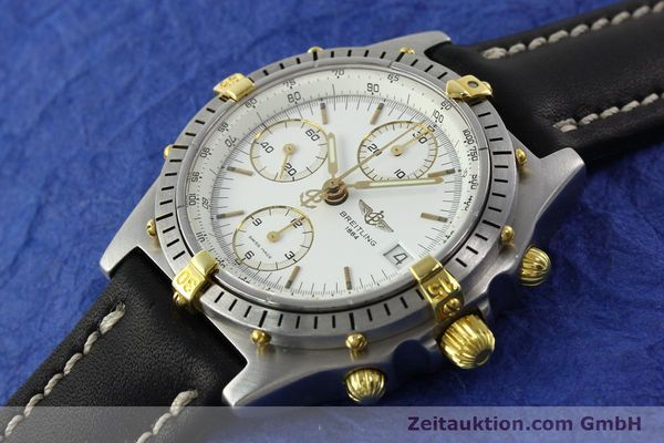 Used luxury watch Breitling Chronomat chronograph steel / gold automatic Kal. B13 VAL 7750 Ref. 81950B13047  | 141297 01