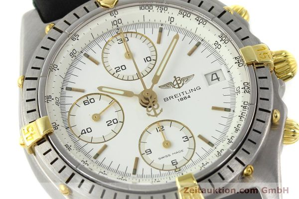 Used luxury watch Breitling Chronomat chronograph steel / gold automatic Kal. B13 VAL 7750 Ref. 81950B13047  | 141297 02