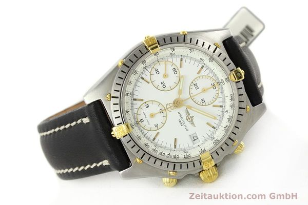 Used luxury watch Breitling Chronomat chronograph steel / gold automatic Kal. B13 VAL 7750 Ref. 81950B13047  | 141297 03