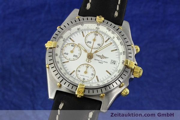 Used luxury watch Breitling Chronomat chronograph steel / gold automatic Kal. B13 VAL 7750 Ref. 81950B13047  | 141297 04