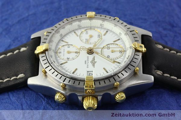 Used luxury watch Breitling Chronomat chronograph steel / gold automatic Kal. B13 VAL 7750 Ref. 81950B13047  | 141297 05