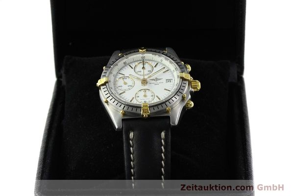 Used luxury watch Breitling Chronomat chronograph steel / gold automatic Kal. B13 VAL 7750 Ref. 81950B13047  | 141297 07
