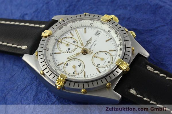 Used luxury watch Breitling Chronomat chronograph steel / gold automatic Kal. B13 VAL 7750 Ref. 81950B13047  | 141297 12