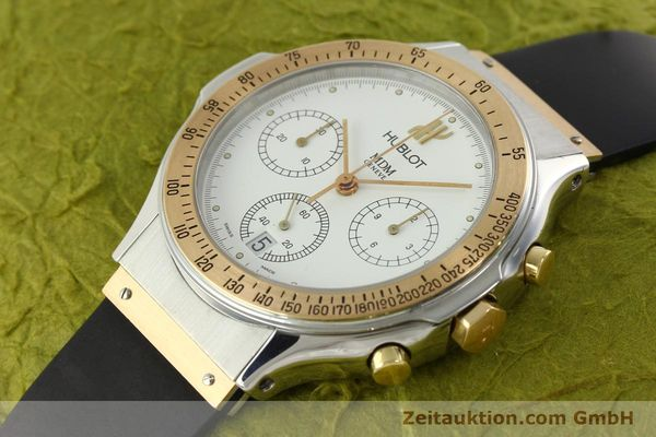 Used luxury watch Hublot MDM chronograph steel / gold quartz Kal. 1270 Ref. 1620.7  | 141298 01