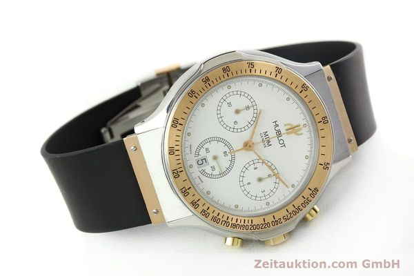 Used luxury watch Hublot MDM chronograph steel / gold quartz Kal. 1270 Ref. 1620.7  | 141298 03