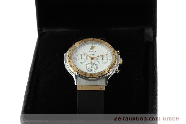 Used luxury watch Hublot MDM chronograph steel / gold quartz Kal. 1270 Ref. 1620.7  | 141298 07
