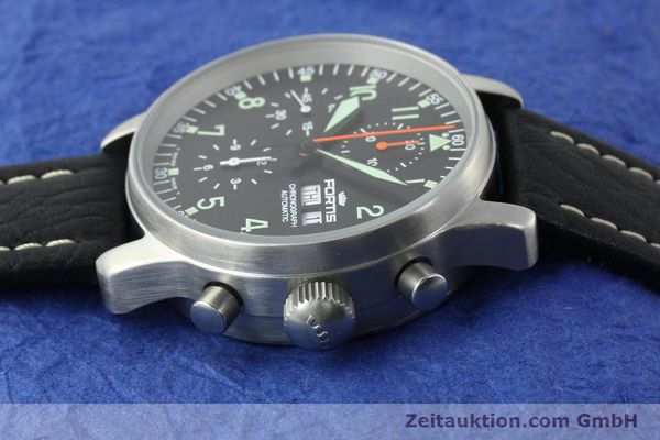 Used luxury watch Fortis Flieger steel automatic Kal. ETA 7750 Ref. 597.10.141.1  | 141303 05
