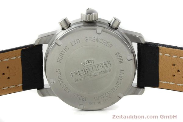 Used luxury watch Fortis Flieger steel automatic Kal. ETA 7750 Ref. 597.10.141.1  | 141303 11