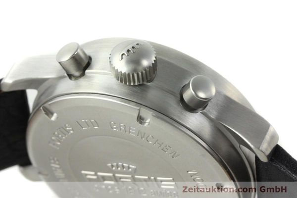 Used luxury watch Fortis Flieger steel automatic Kal. ETA 7750 Ref. 597.10.141.1  | 141303 12