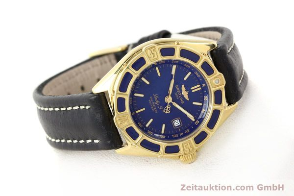 Used luxury watch Breitling Lady J 18 ct gold quartz Kal. B52 ETA 256.112 Ref. K52065.1  | 141304 03