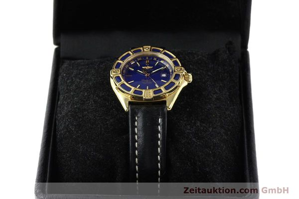 Used luxury watch Breitling Lady J 18 ct gold quartz Kal. B52 ETA 256.112 Ref. K52065.1  | 141304 07