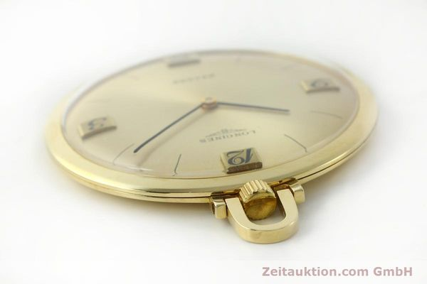 Used luxury watch Longines Taschenuhr 18 ct gold manual winding Kal. Record 666  | 141306 11