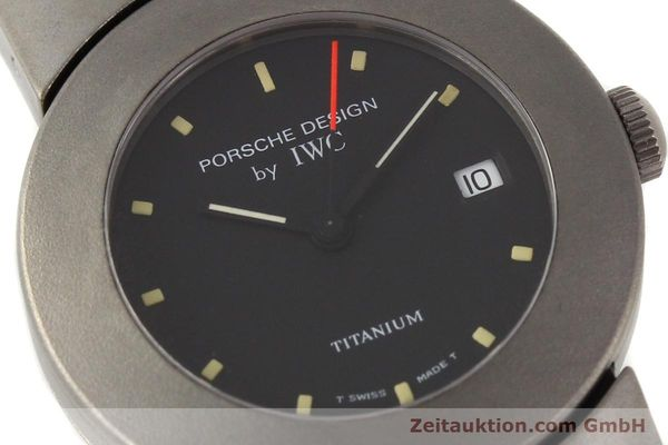 Used luxury watch IWC Porsche Design titanium quartz Kal. 2209 ETA 256111 Ref. 4520  | 141307 02