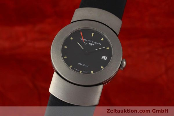 Used luxury watch IWC Porsche Design titanium quartz Kal. 2209 ETA 256111 Ref. 4520  | 141307 04