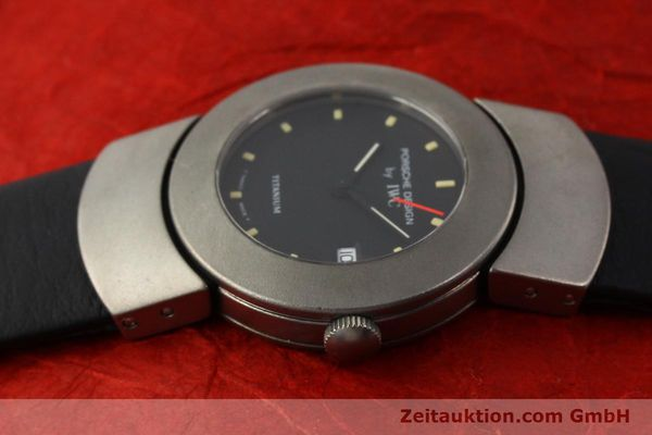 Used luxury watch IWC Porsche Design titanium quartz Kal. 2209 ETA 256111 Ref. 4520  | 141307 05