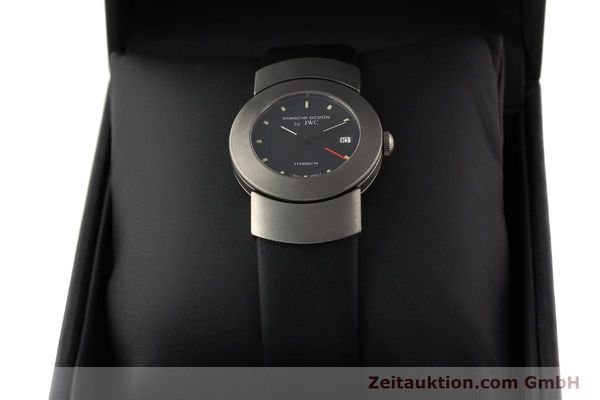Used luxury watch IWC Porsche Design titanium quartz Kal. 2209 ETA 256111 Ref. 4520  | 141307 07