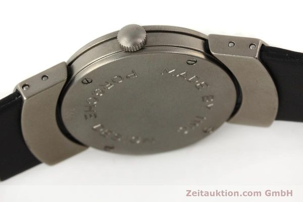 Used luxury watch IWC Porsche Design titanium quartz Kal. 2209 ETA 256111 Ref. 4520  | 141307 08