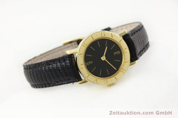 Used luxury watch Bvlgari Bvlgari 18 ct gold manual winding Kal. Kaliber 78/1 auf Basis ETA 2512 Ref. G18864  | 141311 03