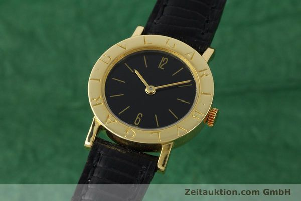 Used luxury watch Bvlgari Bvlgari 18 ct gold manual winding Kal. Kaliber 78/1 auf Basis ETA 2512 Ref. G18864  | 141311 04