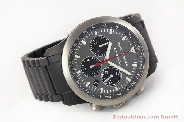 Used luxury watch Porsche Design Dashbord aluminium automatic Kal. ETA 2894-2 Ref. 6612.14/1  | 141313 03