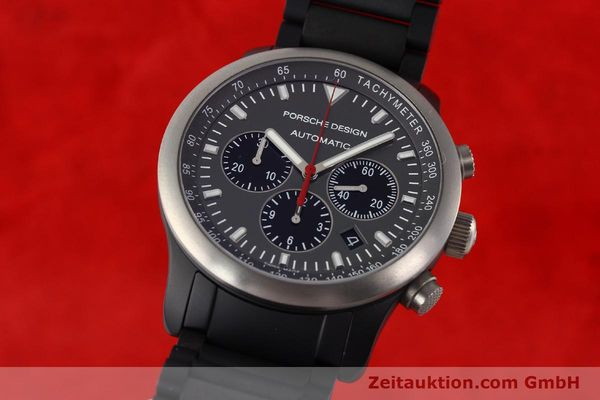 Used luxury watch Porsche Design Dashbord aluminium automatic Kal. ETA 2894-2 Ref. 6612.14/1  | 141313 04
