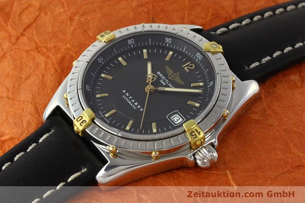 Used luxury watch Breitling Antares gilt steel automatic Kal. B10 ETA 2892A2 Ref. B10048  | 141314 01