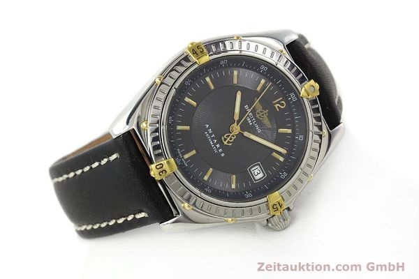 Used luxury watch Breitling Antares gilt steel automatic Kal. B10 ETA 2892A2 Ref. B10048  | 141314 03