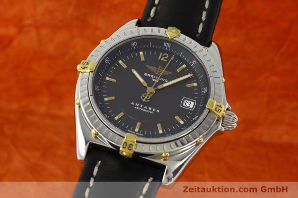 Used luxury watch Breitling Antares gilt steel automatic Kal. B10 ETA 2892A2 Ref. B10048  | 141314 04
