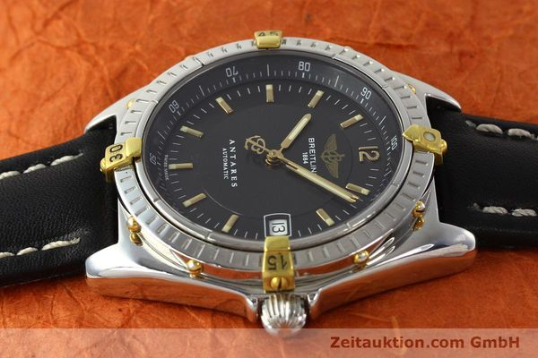 Used luxury watch Breitling Antares gilt steel automatic Kal. B10 ETA 2892A2 Ref. B10048  | 141314 05