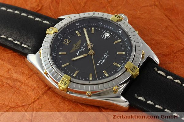 Used luxury watch Breitling Antares gilt steel automatic Kal. B10 ETA 2892A2 Ref. B10048  | 141314 13