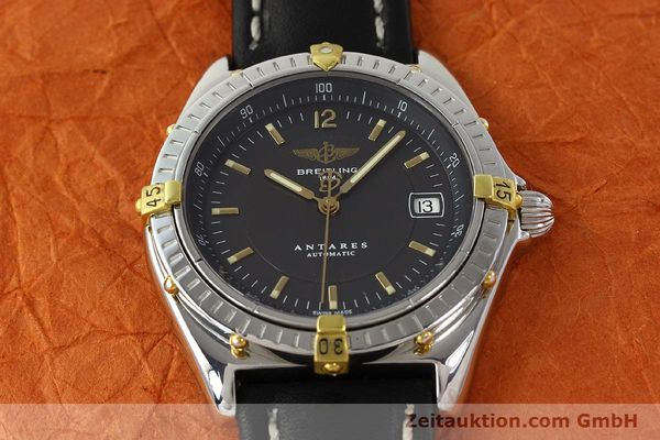 Used luxury watch Breitling Antares gilt steel automatic Kal. B10 ETA 2892A2 Ref. B10048  | 141314 14