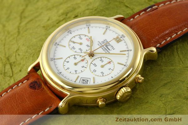 Used luxury watch Zenith Elprimero gold-plated automatic Kal. 400 Ref. 20.0020.400  | 141315 01