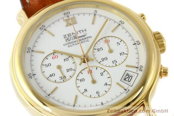 Used luxury watch Zenith Elprimero gold-plated automatic Kal. 400 Ref. 20.0020.400  | 141315 02