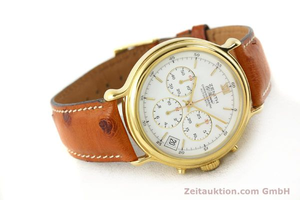 Used luxury watch Zenith Elprimero gold-plated automatic Kal. 400 Ref. 20.0020.400  | 141315 03