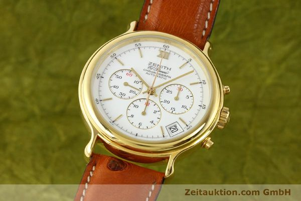 Used luxury watch Zenith Elprimero gold-plated automatic Kal. 400 Ref. 20.0020.400  | 141315 04