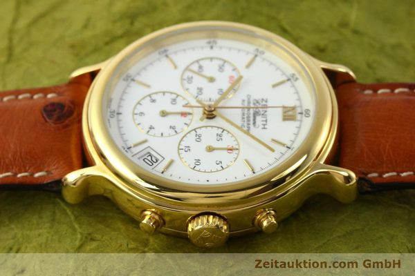 Used luxury watch Zenith Elprimero gold-plated automatic Kal. 400 Ref. 20.0020.400  | 141315 05